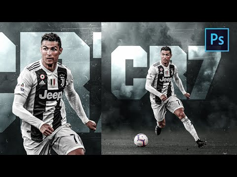 [ Photoshop Manipulation ] Professional Football Poster Design - SPORT EDITING TUTORIAL
