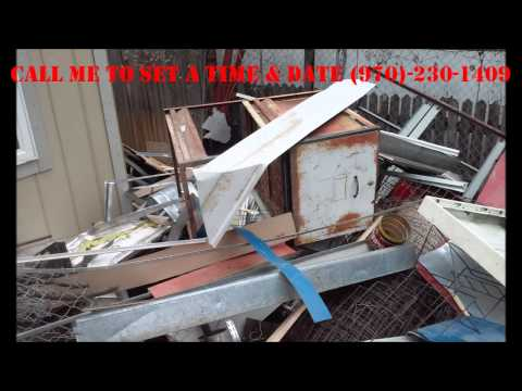 METAL IRON STEEL HOME APPLIANCES REMOVAL FOR FREE IN COLORADO (970-230-1409)