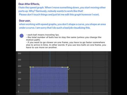"""Falling in Love with After Effects Speed Graph (aka """"Dear After Effects, I hat the speed graph"""")"""