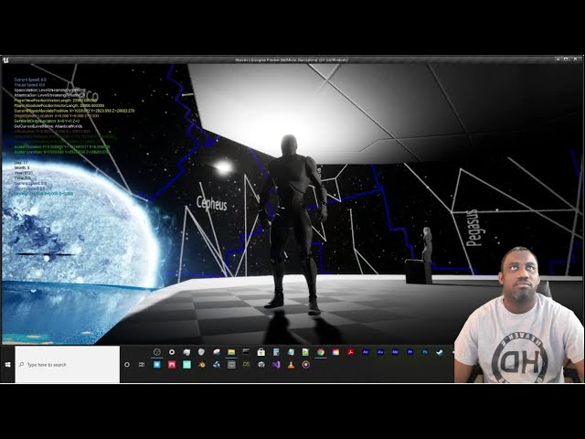 Space Engine Stars and Constellations Skyspheres in Unreal Engine 4.26