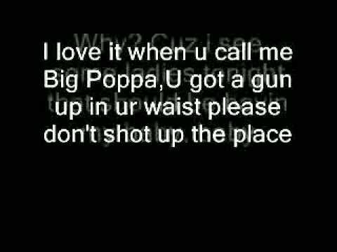 Big Poppa Lyrics Biggie Smalls - YouTube