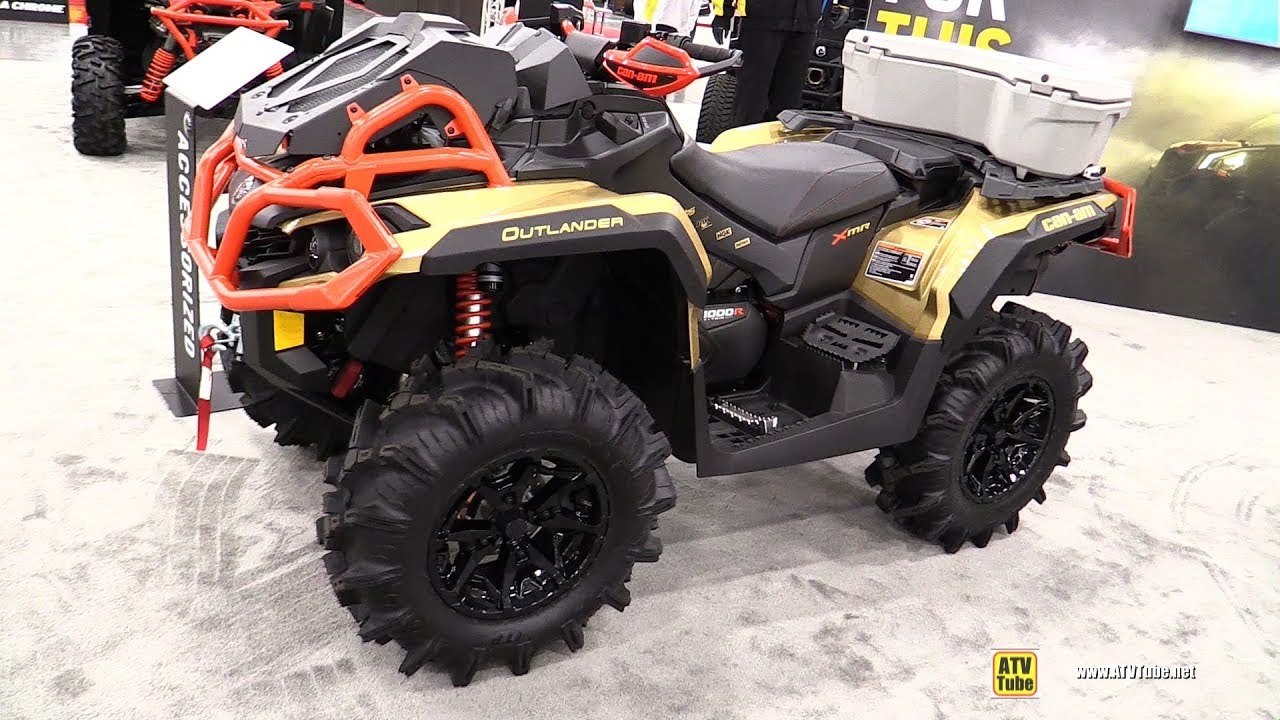 Can Am Outlander 1000 Xmr >> 2019 Can Am Outlander Xmr 1000 R Walkaround 2018 Aimexpo Las Vegas