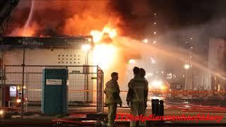 zeer grote brand grip 1 postjesweg amsterdam beelden ter plaatse