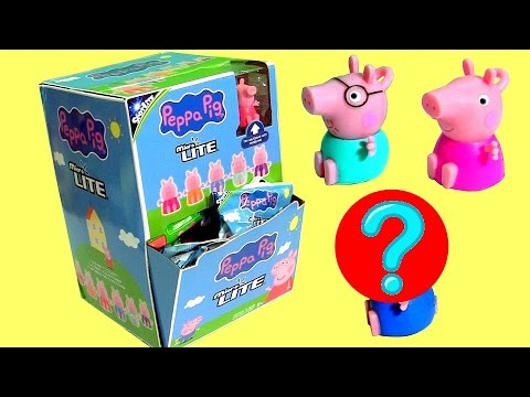 Nickelodeon Peppa Pig Micro Lite Box Collection Full Set Opening