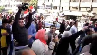 رصد   مسيرة تجوب محيط مجلس الدولة بعد الحكم بمصرية تيران وصنافير