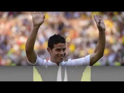 James Rodriguez unveiled as Real Madrid player on six-year...