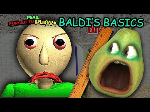 Pear FORCED to play BALDI'S BASICS!