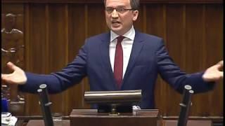 Minister Ziobro - Audyt rządów PO-PSL (11.05.2016)