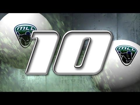 Major League Lacrosse: Top 10 Plays of Week 14