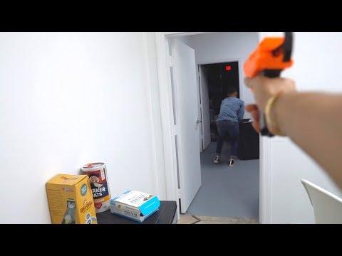 The Zuniga's Nerf Gun Battle