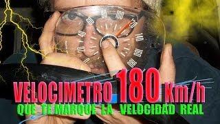 El VELOCÍMETRO Speedometer NO MARCA - Reparación fácil