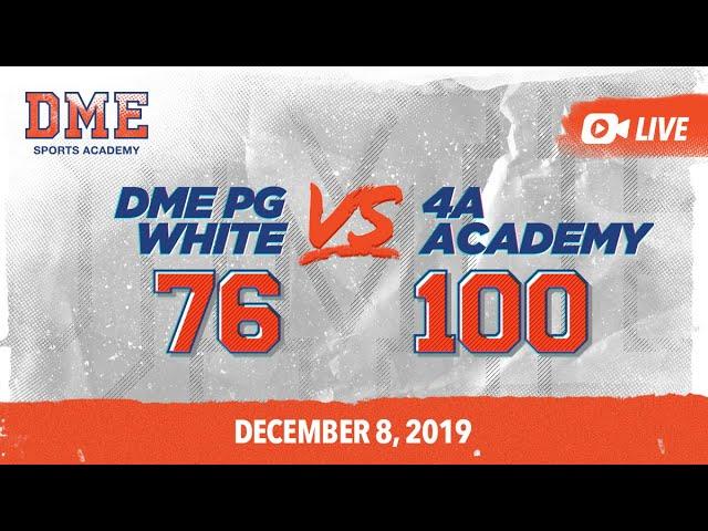 DME PG White vs 4A