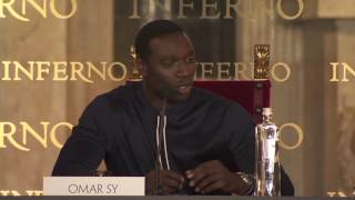 INFERNO FLORENCE PRESS CONFERENCE OMAR SY