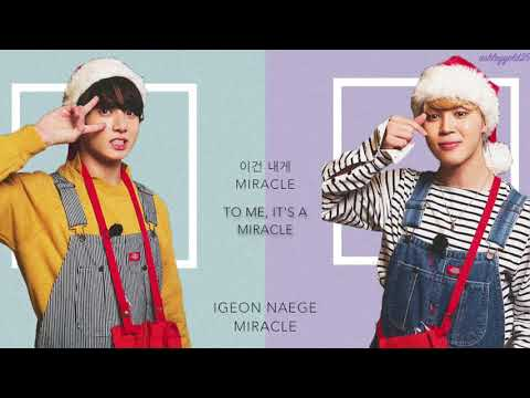 BTS Jimin & Jungkook - 'Christmas Day' [Han|Rom|Eng lyrics]