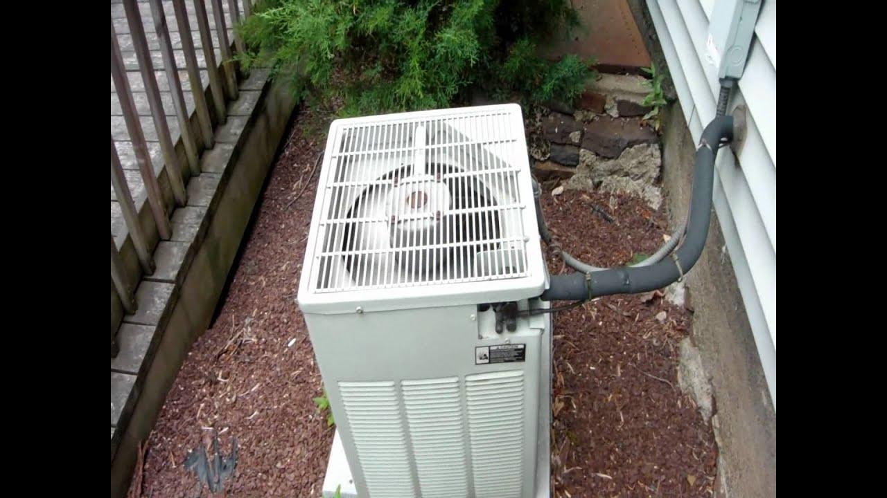 1996 Trane XB1000 1.5-ton central air-conditioner - YouTube