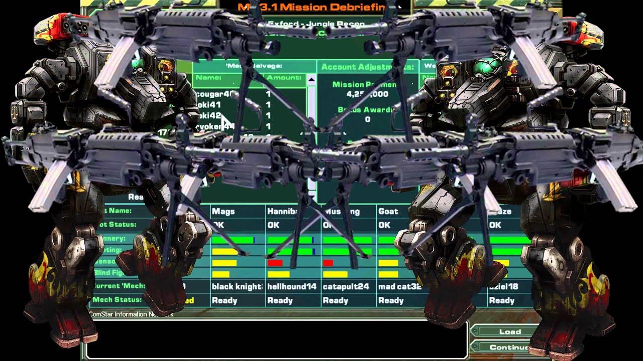 [MechWarrior 4: Mercenaries] Let's Play EP 6 - Machine Gun POWAH!!