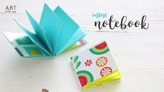 DIY Mini Notebooks | DIY Back To School