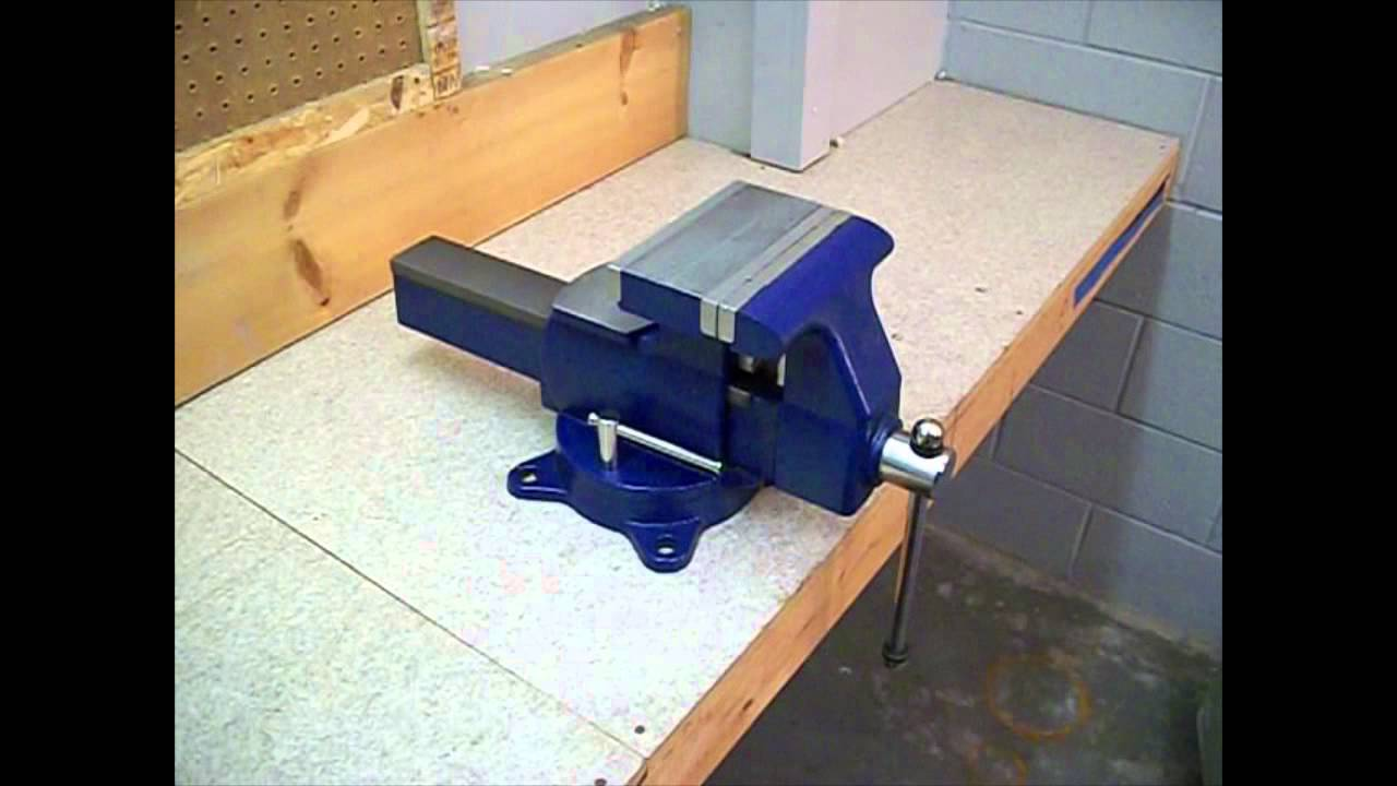 Mounting A Bench Vise Youtube