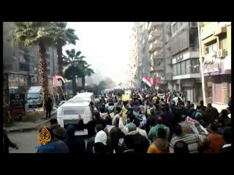 Several dead as Egypt protests turn violent