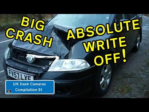 UK Dash Cameras - Compilation 51 - 2019 Bad Drivers, Crashes + Close Calls