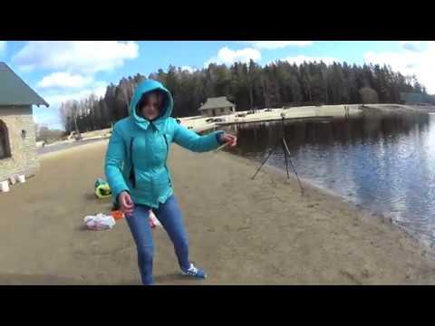 """""""Дикая""""весенняя рыбалка!!!Ловим очень """"дикую"""" рыбу."""