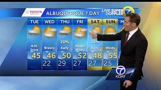 Eric Green's Tuesday Weather Forecast