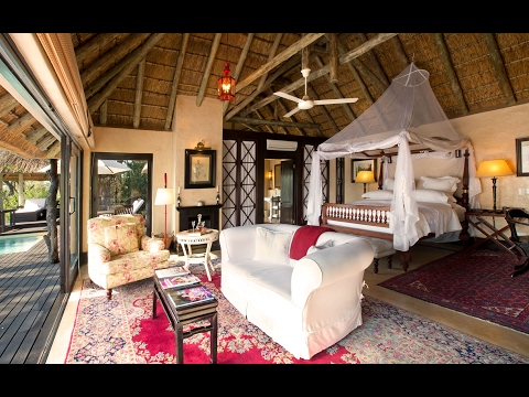 ROYAL MALEWANE, South Africa's most luxurious safari lodge: