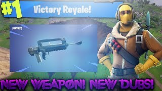 *NEW WEAPON* FAMAS IN FORTNITE! LETS GET DUBS!246+ SOLO WINS! ROAD TO 7.2K! (Fortnite Battle Royale)