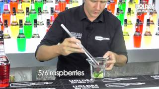 How To Mix A Raspberry Caipiriña - Volare In The Mix 66