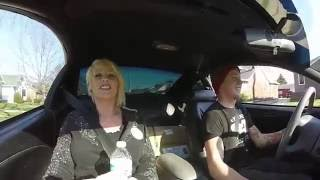 Moms reaction to Mustang! Massive Freak Out!