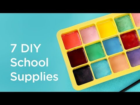 Thumbnail: 7 Easy DIY School Supplies