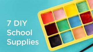 7 Easy DIY School Supplies