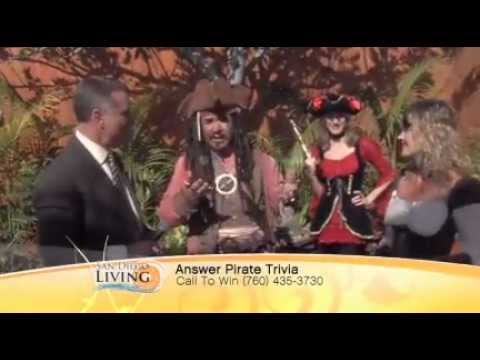 Captain Sam Diego ~ Oceanside Museum of Art Pirates Ashore Event on San Diego Living