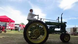 antique tractor parade eloit maine 7/31/16