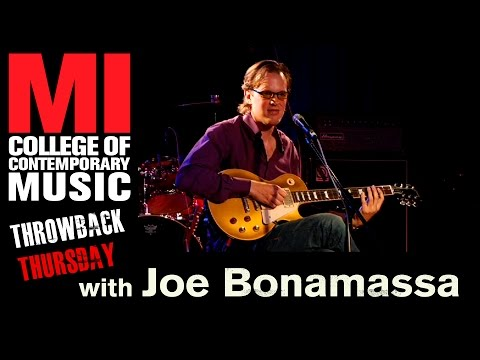 Joe Bonamassa Throwback Thursday From the MI Vault 10/8/2009