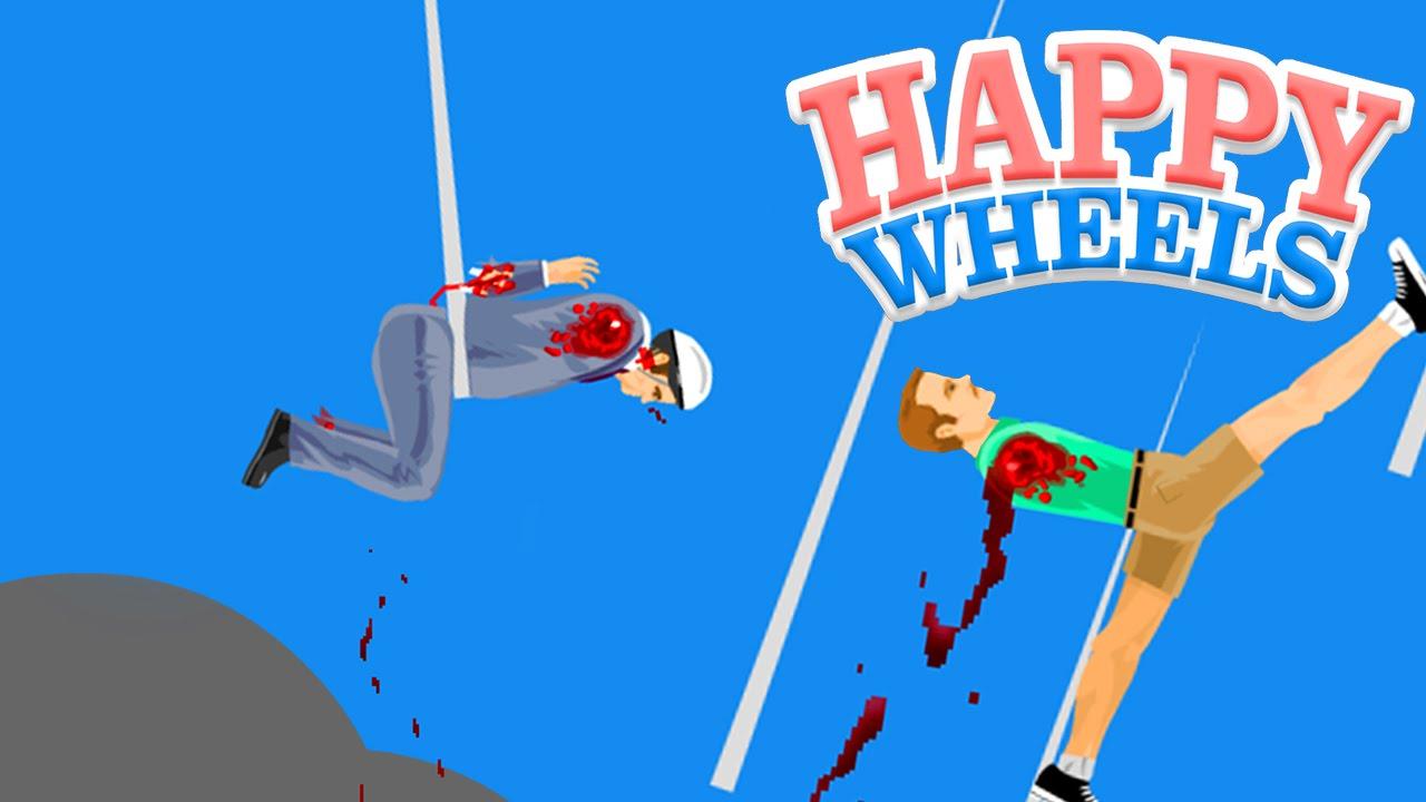 happy wheels video
