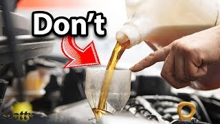 Never Do This to Your Car's Engine
