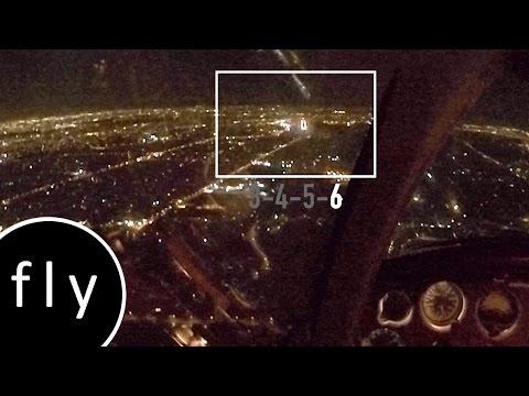 High Intensity Runway Lighting demo (HIRL)