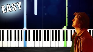 Lewis Capaldi - Before You Go - EASY Piano Tutorial by PlutaX