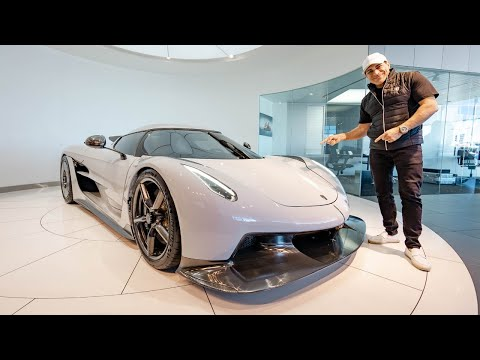 TAKING A LOOK AT THE KOENIGSEGG GEMERA AND JESKO ABSOLUT! || Manny Khoshbin