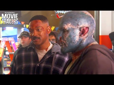 Bright  Get to know Officers' Ward & Jakoby with Will Smith and Joel Edgerton