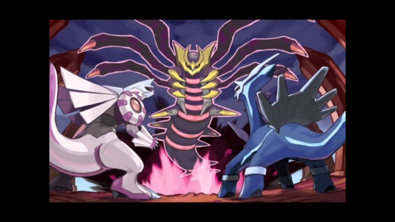 Shiny Palkia , Dialga, And Giratina [Origin And Altered Forms ...