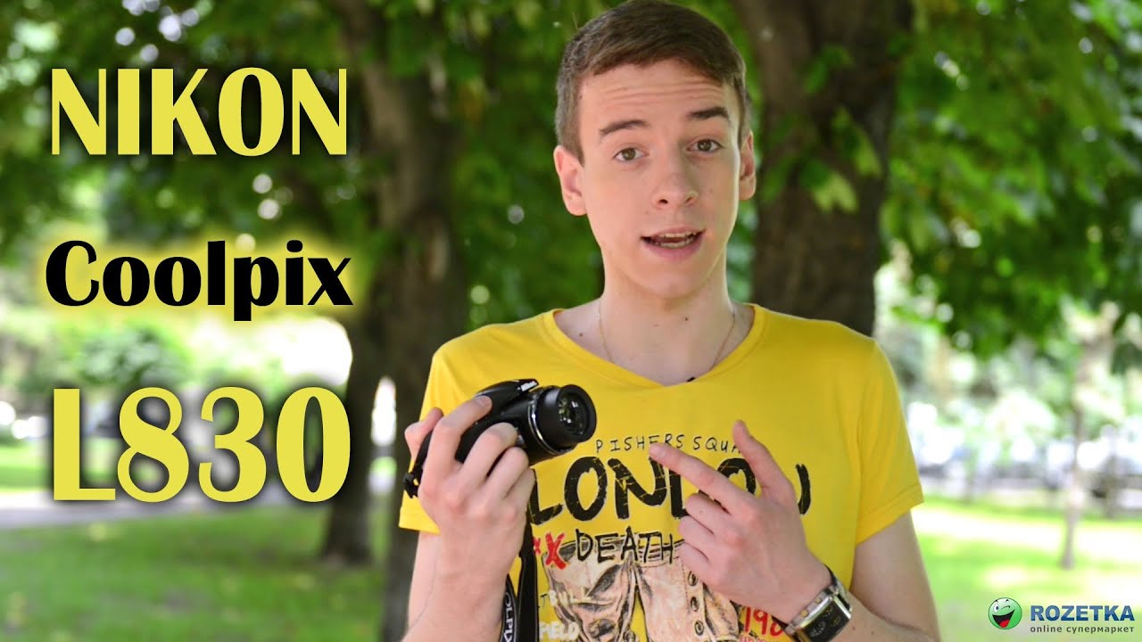 Nikon L820 REVIEW - YouTube