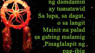 Da Best ang Pasko ng Pilipino with Lyrics by Maria Aragon