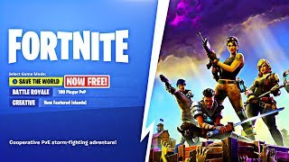 How to get Fortnite Save the World FOR FREE! Save the World free to play 2019!