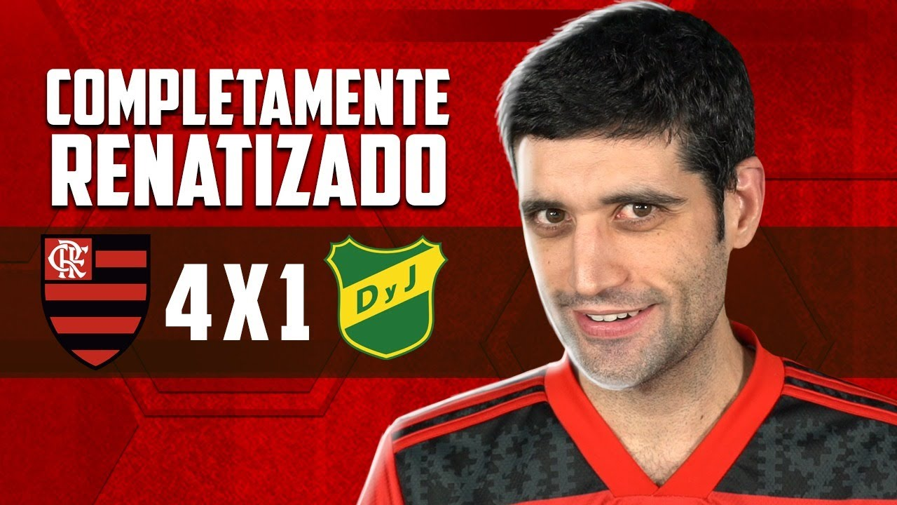 Flamengo 4 x 1 Defensa y Justicia, Libertadores - ESTOU COMPLETAMENTE RENATIZADO