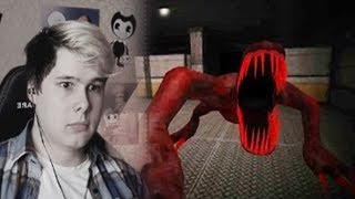 НАШЕЛ РЕПТИЛОИДА В ПОДВАЛЕ SCP Containment breach