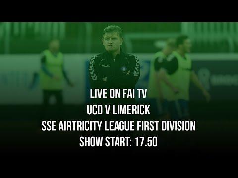 SSE Airtricity League Live: UCD v Limerick