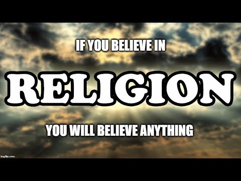 Religion is the Greatest System of Control
