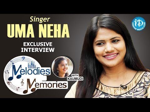 Singer Uma Neha Exclusive Interview || Melodies And Memories